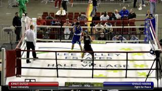 Haringey Box Cup QF - Ionut Dutca v. Khalid Hakimi