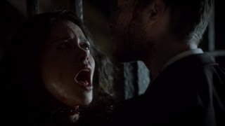 The Vampire Diaries 4x09 - Klaus Kills Hybrids Scene -Cary Brothers- O Holy Night