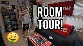 MY DOPE ROOM TOUR!! (Hypebeast Heaven)