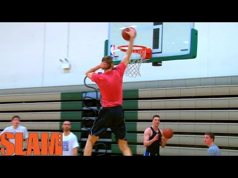 Jake Layman 2016 NBA Draft Workout - 6'9 NBA Draft Prospect - #16NBACLH