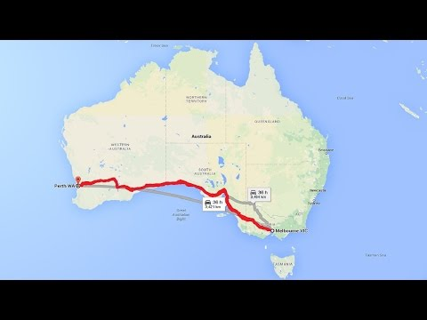 Driving From Melbourne to Perth