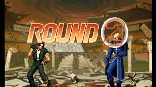 KUSANAGI Kyo vs Goenitz - THE KING OF FIGHTERS '96