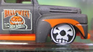 2017 Hot Wheels Halloween Case Unboxing Video by RaceGrooves