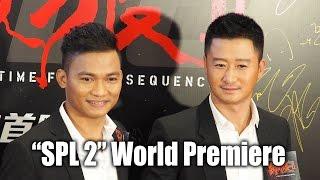 Tony Jaa and Wu Jing at
