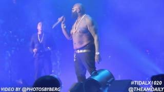 Tidal X: 1020 Concert Featuring Fabolous, Jay-Z, Rick Ross & Lil Wayne