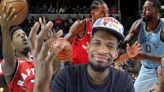 THIS IS WHAT THE BEST NBA TEAM LOOKS LIKE?? RAPTORS vs GRIZZLIES REACTION