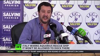 Migrant rescue ship Aquarius won