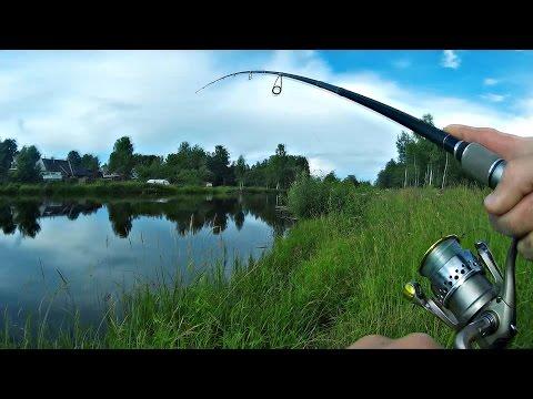 летняя рыбалка на спиннинг видео бесплатно