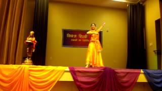Vishwa Hindi Jyoti Kathak Performance (Clip 2) by Meenakshi Kulkarni