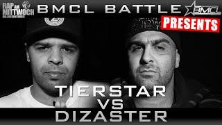 BMCL RAP BATTLE: TIERSTAR VS DIZASTER | powered by audio-technica (BATTLEMANIA CHAMPIONSLEAGUE)