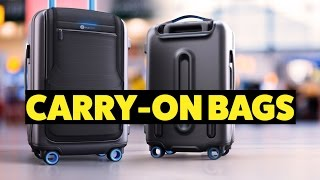 4 UNIQUE CARRY-ON BAGS