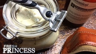 A Better Way to Shave: Homemade Shaving Cream   |  Fresh P