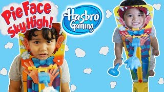 NEW Pie Face SKY HIGH by Hasbro | Father and Son Challenge
