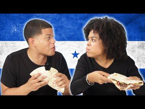 Xxx Mp4 Dominicans Try Honduran Baleadas For The First Time 3gp Sex