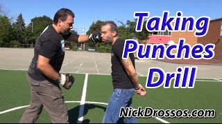 Taking Punches Drill By MOOSE 6'6 350LBS - MUST WATCH!!