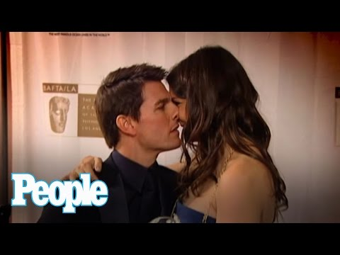 Xxx Mp4 Flashback Tom Cruise And Katie Holmes 39 First Red Carpet Kiss People 3gp Sex