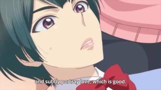 Anime Kiss scene Yuri? (Kae and Shima) 😍😍