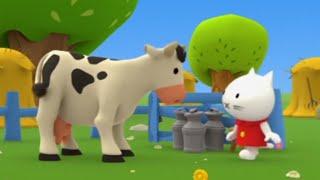 Мультики малышам - Мусти на ферме - сборник 2