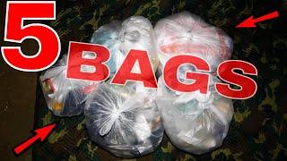 5 CRAZY GOOD GAMESTOP BAGS!!! Dumpster Diving Gamestop Night #385