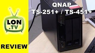 QNAP TS-251+ / TS-451+ NAS Review - Plex, Video, running Windows and HDMI! (virtually)