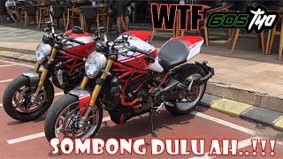 MOTOVLOGGER KOK SOMBONG..!!! (Duo MONSTER 1200s)