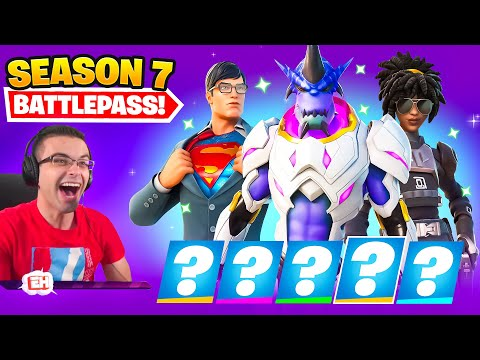 Nick Eh 30 reacts to SEASON 7 Intro and Battle Pass