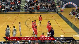 Wolves v. West Bloomfield Boys Varsity Basketball 1/25/2018