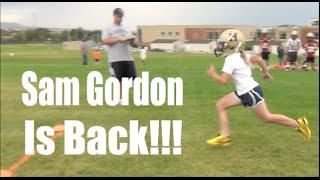 Sam Gordon Girl Football Player:  She