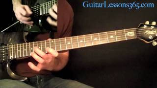 For The Love Of God Guitar Lesson Pt.4 - Steve Vai - Solo