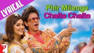 Lyrical: Phir Milenge Chalte Chalte Song with Lyrics | Rab Ne Bana Di Jodi | Jaideep Sahni
