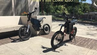 11Kw High Power Electric Bikes Ripping up the Streets
