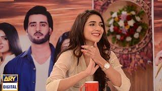 Rabab Hashim explaining her character in - Tumhare Hain