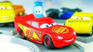Cars 3 Lightning McQueen Learn colors with cars for kids Surprise Color toys for children Funny baby