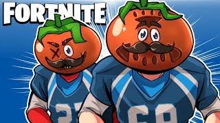 TOMATOES VS BURGERS! (NEW FOOD FIGHT LTM) - Fortnite Battle Royale