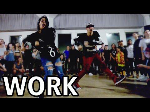 WORK - Rihanna Dance Video | @MattSteffanina Choreography ft Fik-Shun Mp3