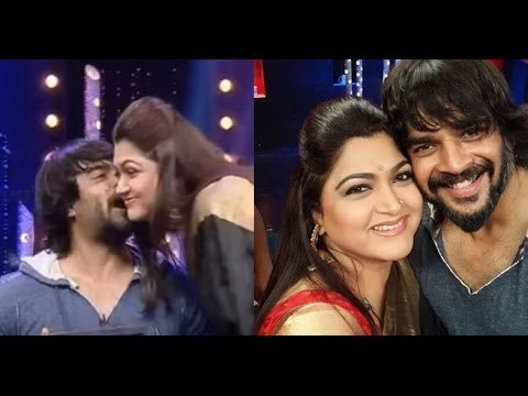 Madhavan's Kiss to Kushboo Creates Tension on Ground...!