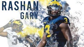 "Rashan Gary   Official Michigan Highlights   ""Welcome to Green Bay"""