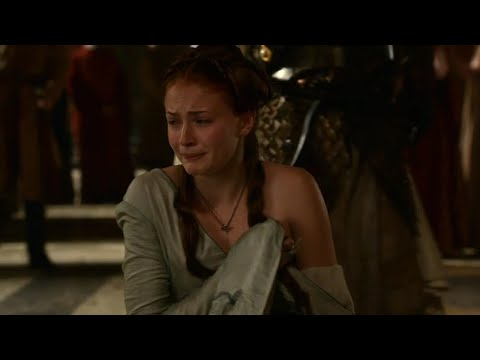 Joffrey maltrata a Sansa Juego de Tronos Español HD