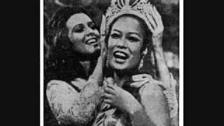 Ikaw Ang Pinakamagandang Babae Sa Balat ng Lupa...Gloria Diaz, Ms.Universe 1969