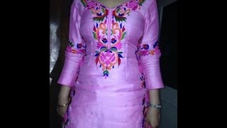 How To Cutting And Sweing Punjabi Ladies Sexy Suit Salwar