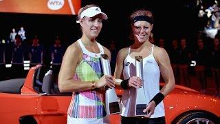 2016 Porsche Tennis Grand Prix Final WTA Highlights | Angelique Kerber vs Laura Siegemund