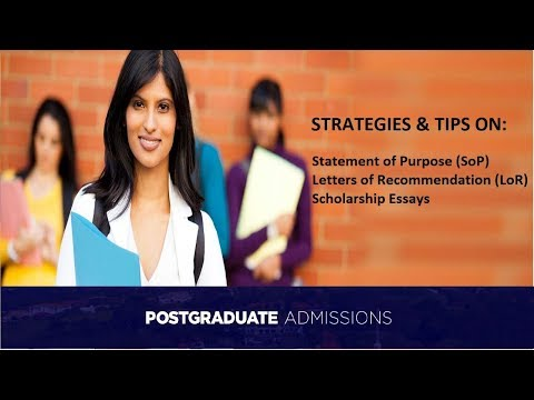 Xxx Mp4 Guidance Tips On SoP LoR Scholarship Essay For Graduate MS Admissions Abroad 3gp Sex
