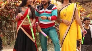 कैसे होती है होली की शूटिंग देखें लाइव वीडियो / Bhojpuri Holi Video 2017 / Live Holi shooting Video