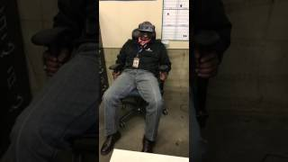 The best reaction to a vr roller coaster you'll ever see nsfw
