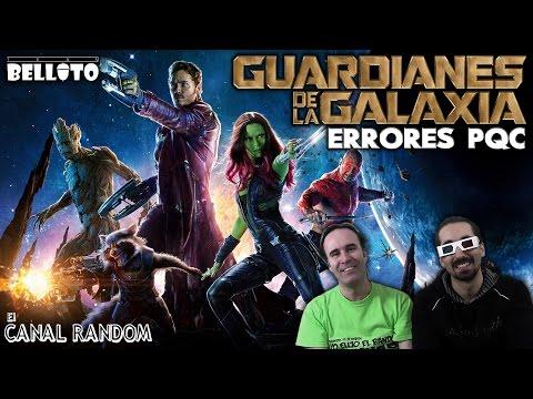 Errores de películas : Guardianes de la Galaxia PQC Errores WTF