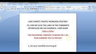 Traffic Monsoon 50 Ad Pack And Beyond Strategy