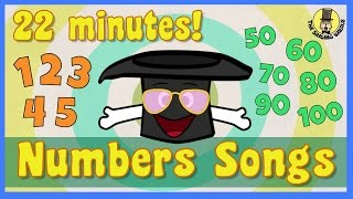 Number Songs for Kids | Kids Song Compilation | The Singing Walrus