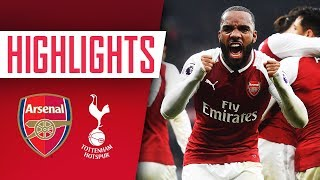 NORTH LONDON IS RED | Arsenal 2 - 0 Tottenham | EXCLUSIVE MINI-MOVIE - Goals and highlights