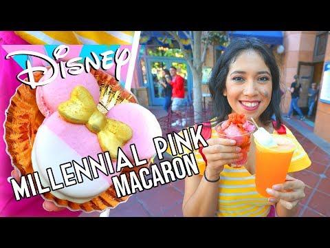 Xxx Mp4 Millennial Pink Minnie Mouse Macaron And Tasty Frozen Treats Disneyland Resort 3gp Sex