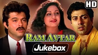 All Songs of Ram Avtar - Sunny Deol, Sri Devi, Anil Kapoor - R.D.Burman